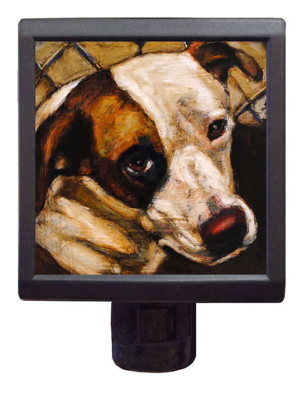 Dog Art Night-Light ~ Karma Clara - An Act of Dog-Museum of Compassion