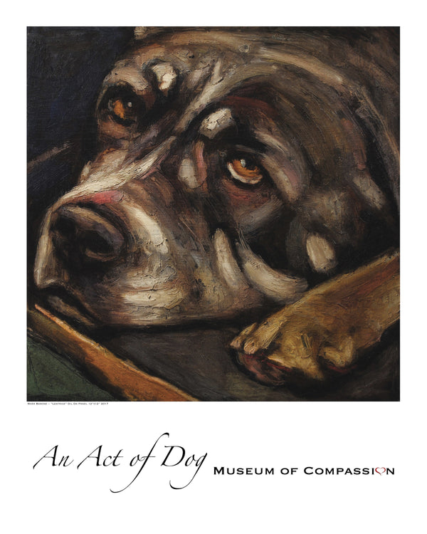 Leatrice ~ Giclee Dog Print - An Act of Dog-Museum of Compassion