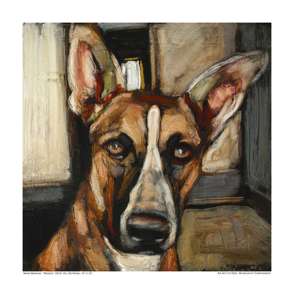 Majestic Maggie-Dog Print - An Act of Dog-Museum of Compassion