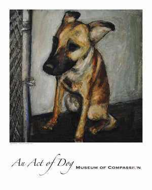 Emma - Giclee Dog Print - An Act of Dog-Museum of Compassion