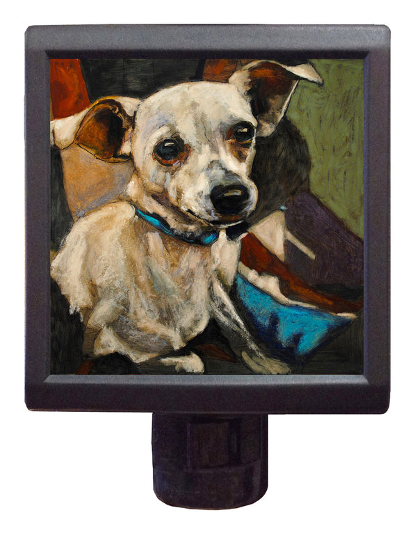 Dog Art Night-Light ~ Namaste Nick - An Act of Dog-Museum of Compassion