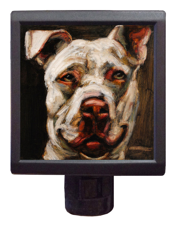 Dog Art Night-Light ~ Nirvana Nelson - An Act of Dog-Museum of Compassion