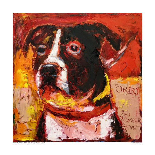 Oreo Modern ~ Dog Print - An Act of Dog-Museum of Compassion