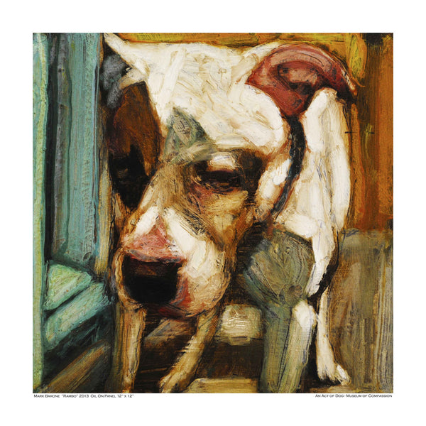 Graceful Rambo-Dog Print - An Act of Dog-Museum of Compassion