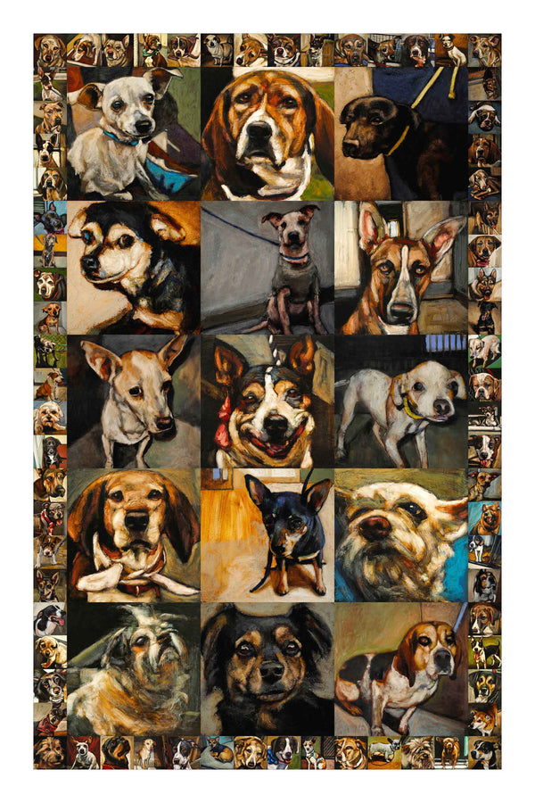 Sacred Souls - Giclée Dog Print - An Act of Dog-Museum of Compassion