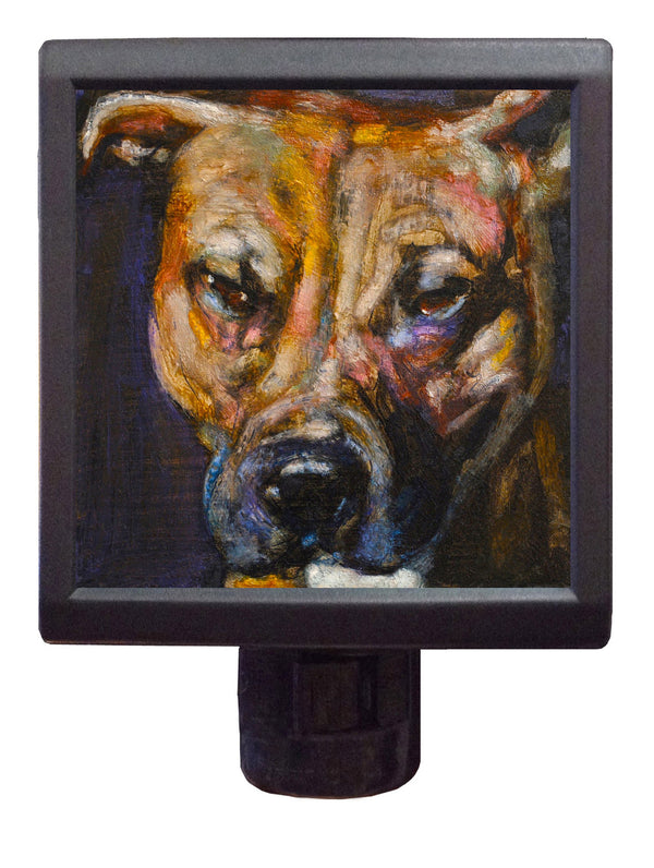 Dog Art Night-Light ~ Spiritual Spot - An Act of Dog-Museum of Compassion
