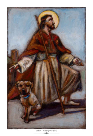 St. Roch ~ Patron Saint of Dogs - An Act of Dog-Museum of Compassion