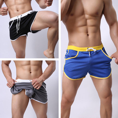 Men's Performance Tie Front Swim Trunks