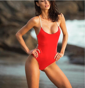 Sexy High Cut Out One Piece Swimsuit - 3 Styles