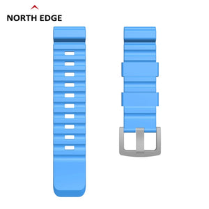 24mm Colorful Watch Band For NORTH EDGE: The Ultimate Divers Navigation Watch