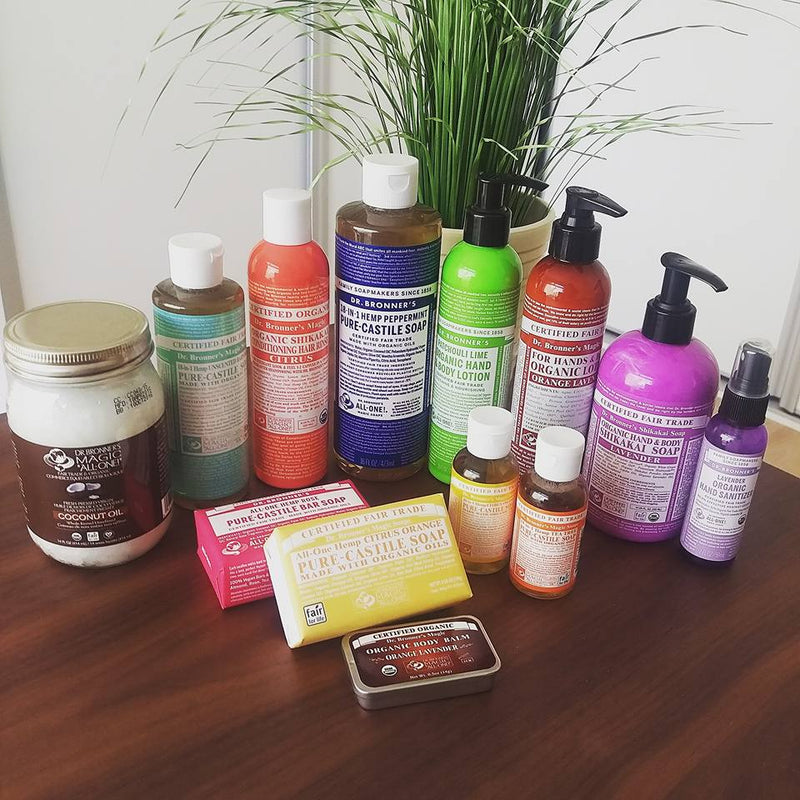 Review: Dr Bronner's Soaps