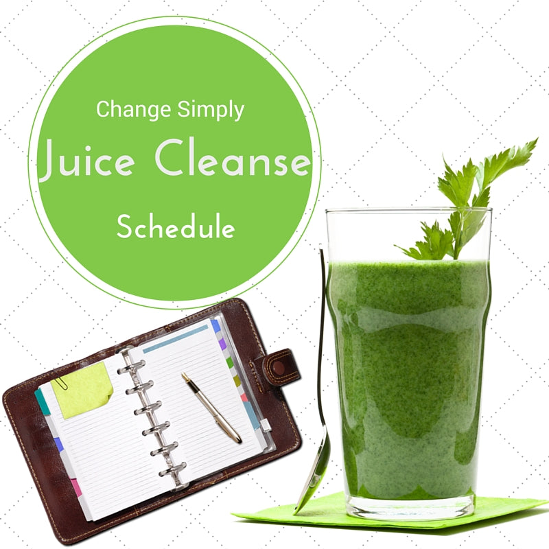 Green Juice Cleanse Schedule