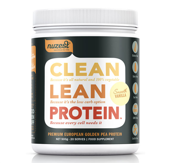 Nuzest Vegan Smooth Vanilla Protein Powder | 500g