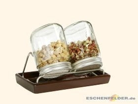 Glass Jar Sprouting Set