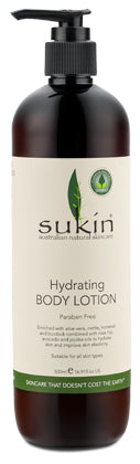 Hydrating Body Lotion 500ml