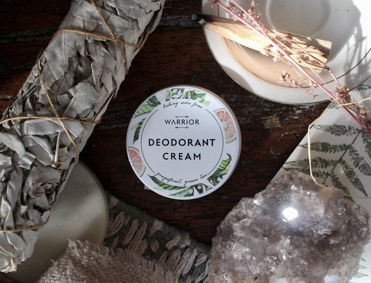 Grapefruit & Green Tea {Baking Soda Free} Deodorant