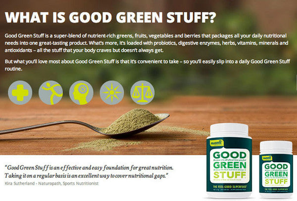 Nuzest Good Green Stuff | 300g