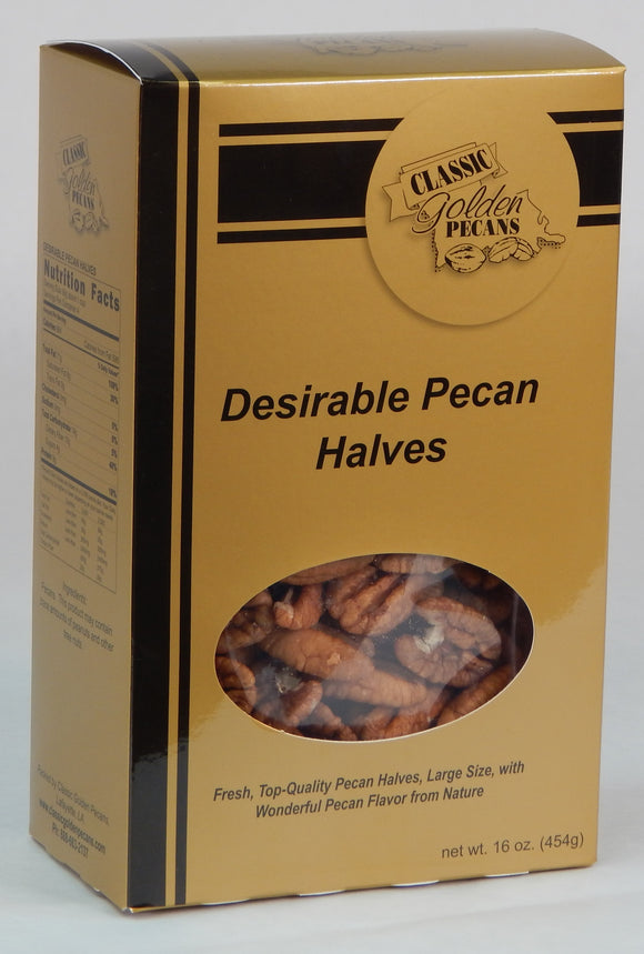 Desirable Pecan Halves