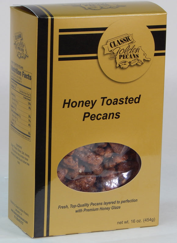 Honey Toasted Pecans