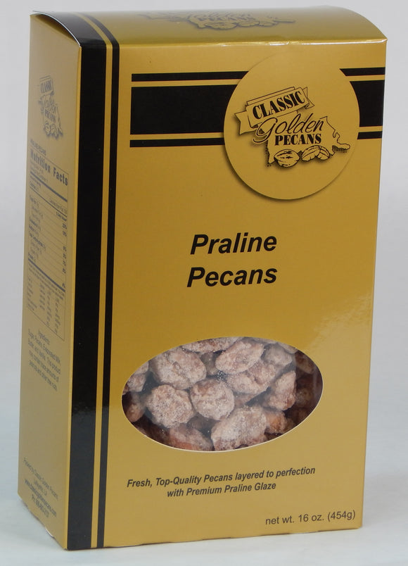 Praline Covered Pecans