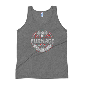 Firefighter Furnace Tri-Blend Unisex Tank - Dark