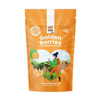 Organic Dried Golden Berries - I LOVE ME attitude