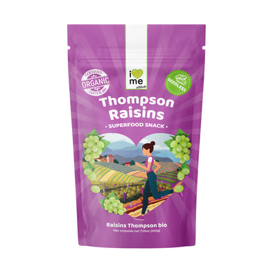 Organic Thompson Raisins I LOVE ME attitude