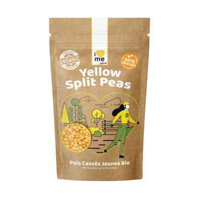 Organic Yellow Split Peas I LOVE ME attitude