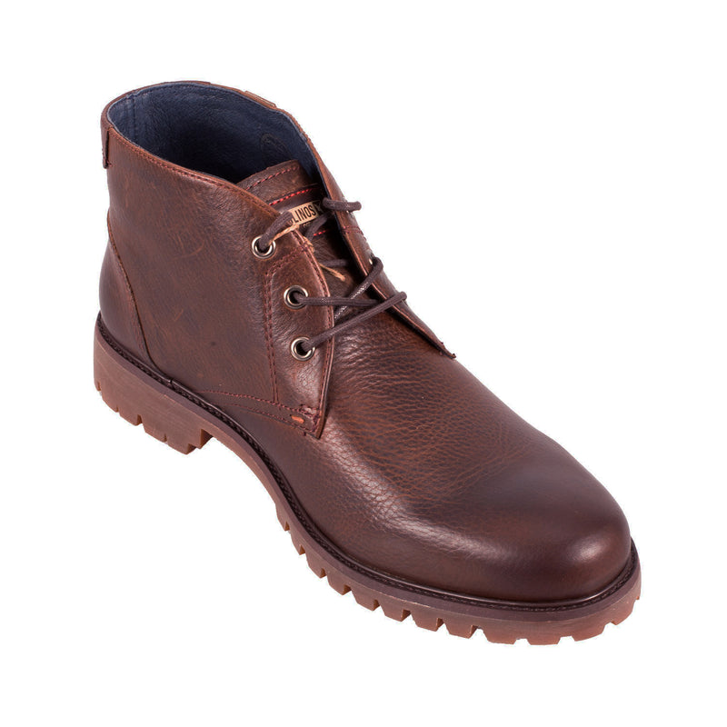 Men's 00T-6860Ng Leather Ankle  Boot