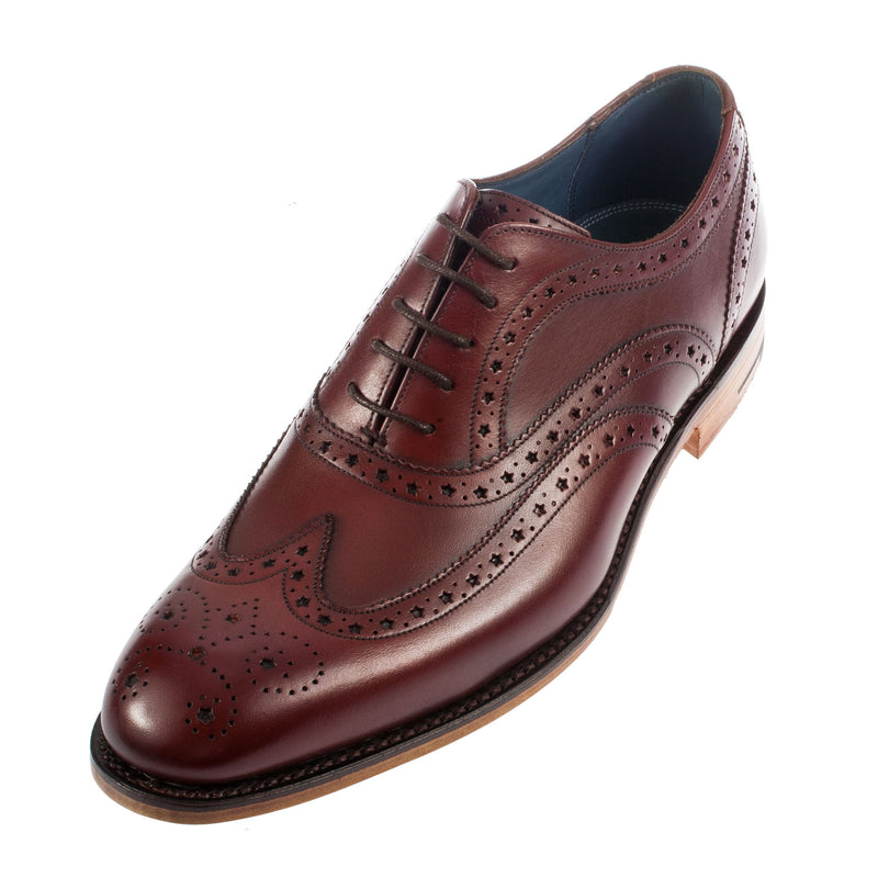 Men's Jensen Full Brogue Leather Shoe