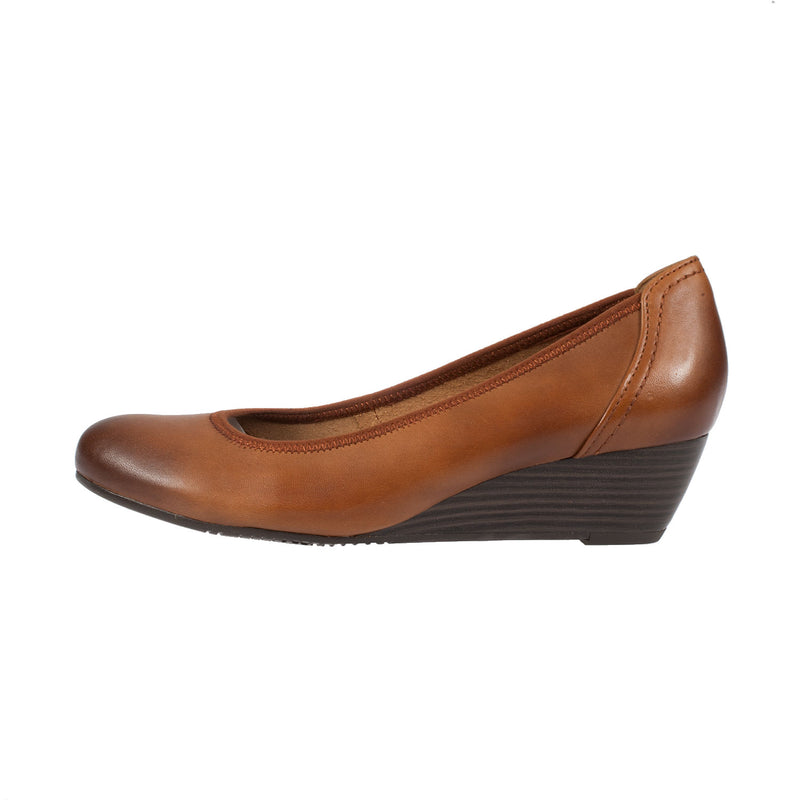 TAMARIS Women's Leather Wedge  Shoe (1-22320-26)