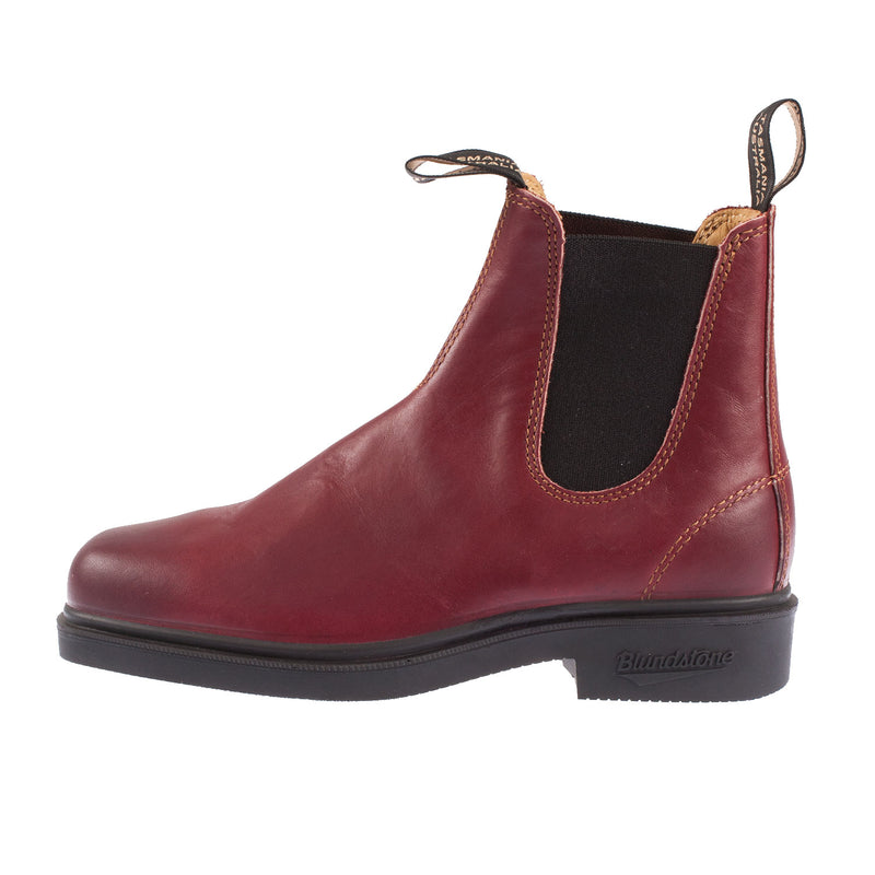 Women's Chisel Toe Elastic Leather Boot