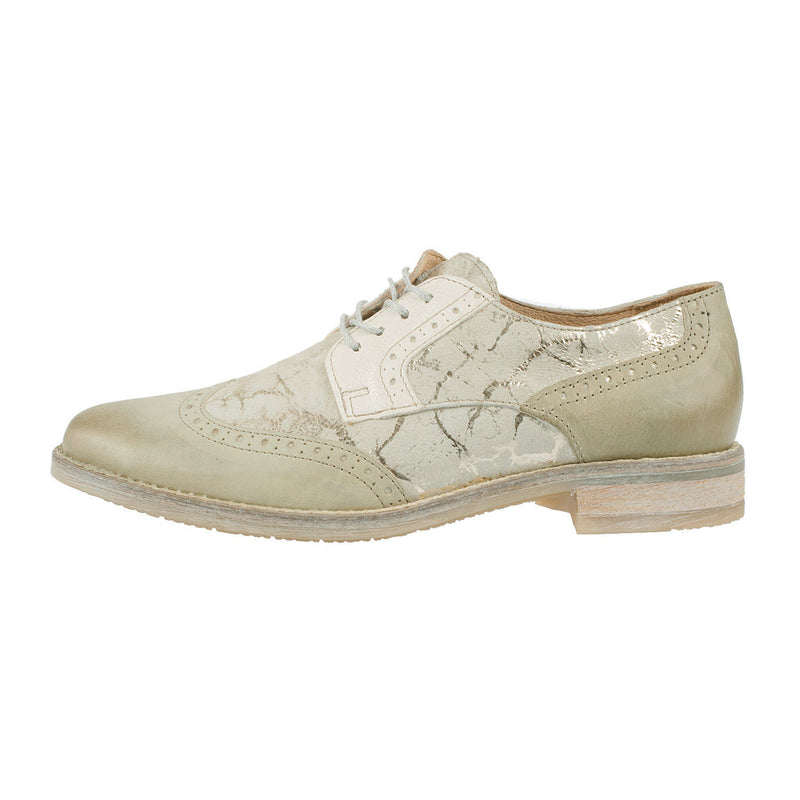 MJUS Women's Leather Lace Up Brogue Shoe (136105)