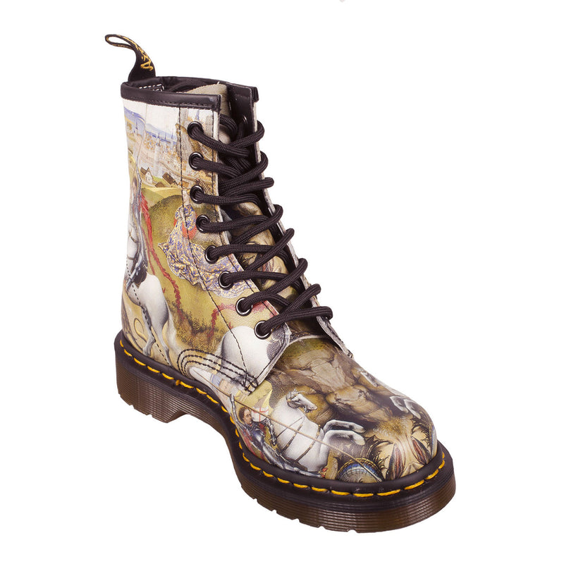 DR MARTENS Unisex 1460 George & Dragon Print Boot (22432102)