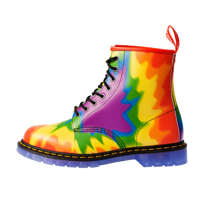 DR MARTENS Men's 1460 Pride Tyedye Colourful Pascal Boot (23330102)