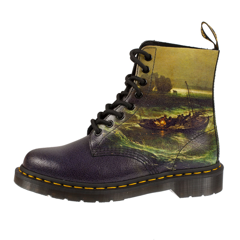 DR MARTENS Unisex Jmw Turner Fisherman 1460 Pascal Ankle Boot