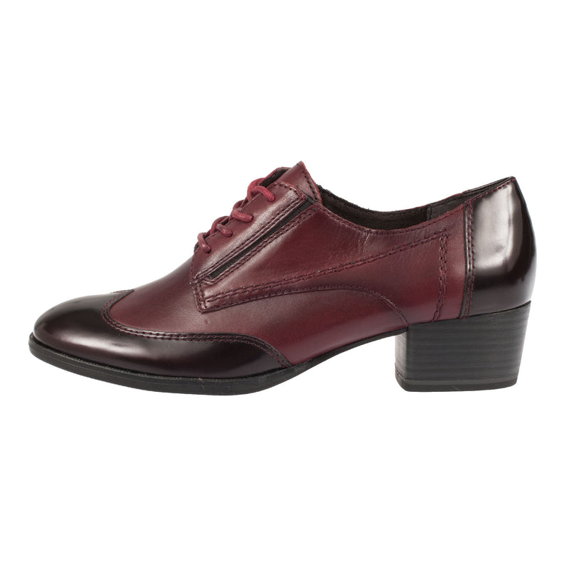 Women's Leather/Synthetic Lace Up Shoe