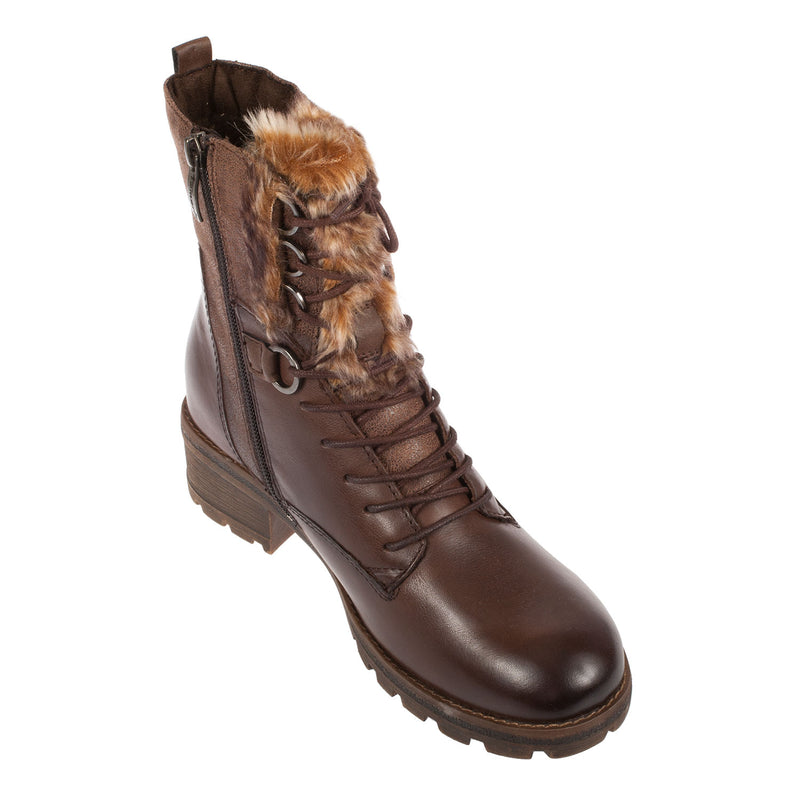 Women's Leather/Synthetic/Textile Boot