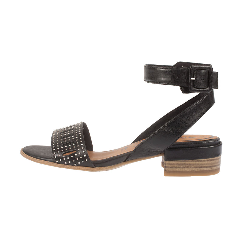 Women's Leather Ankle Strap Sandal