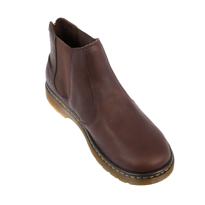 Dr Martens Men's Lyme Dark Brown Leather Chelsea Boot (20832201)