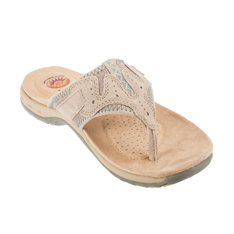 Earth Spirit Women's JACKSON Leather Thong Sandal