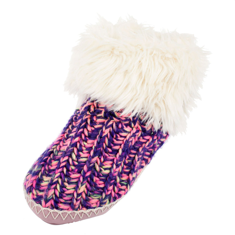 Women's Toni Cable Knit Slippers