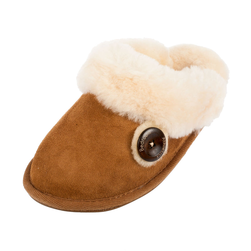 Molly Double Faced Sheepskin Mule