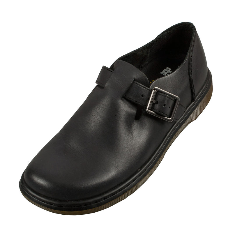 Dr Martens Women's Patricia Buckle Black Leather Shoe (21119001)