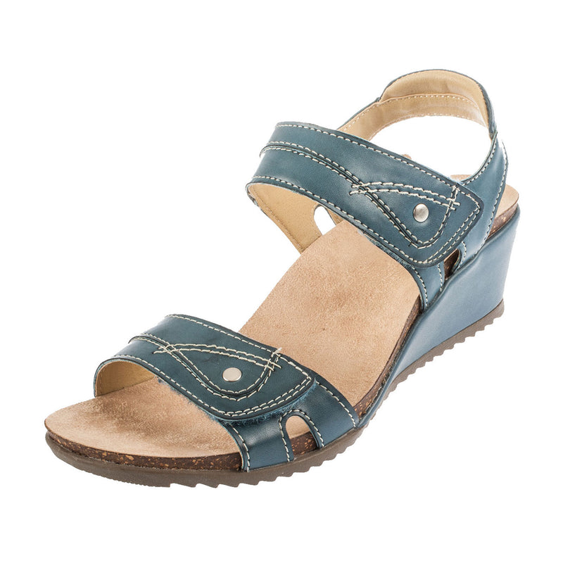 Earth Spirit Women's SANTA CRUZ Leather Wedge Sandal