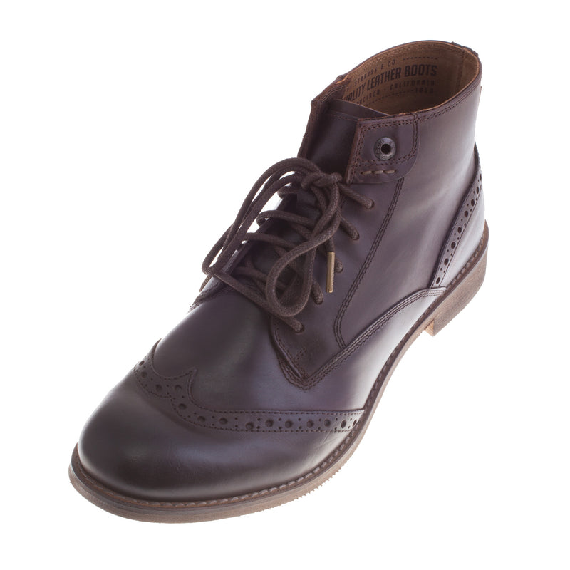 Men's 77123-0415 Leather Lace Up Boot