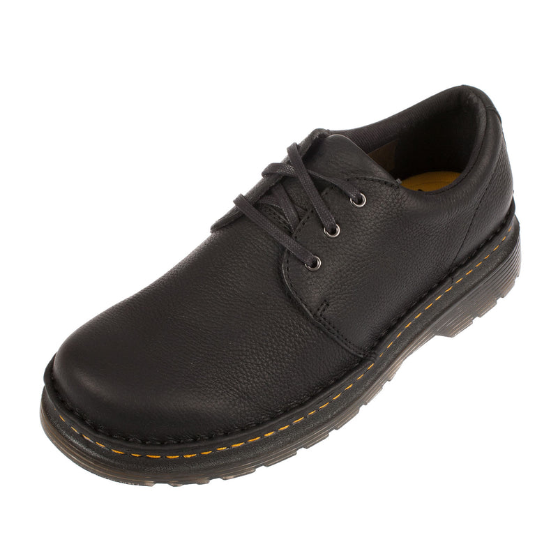 DR MARTENS Men's Hazeldon 3 Eye Lace Up Leather Oxford Shoe