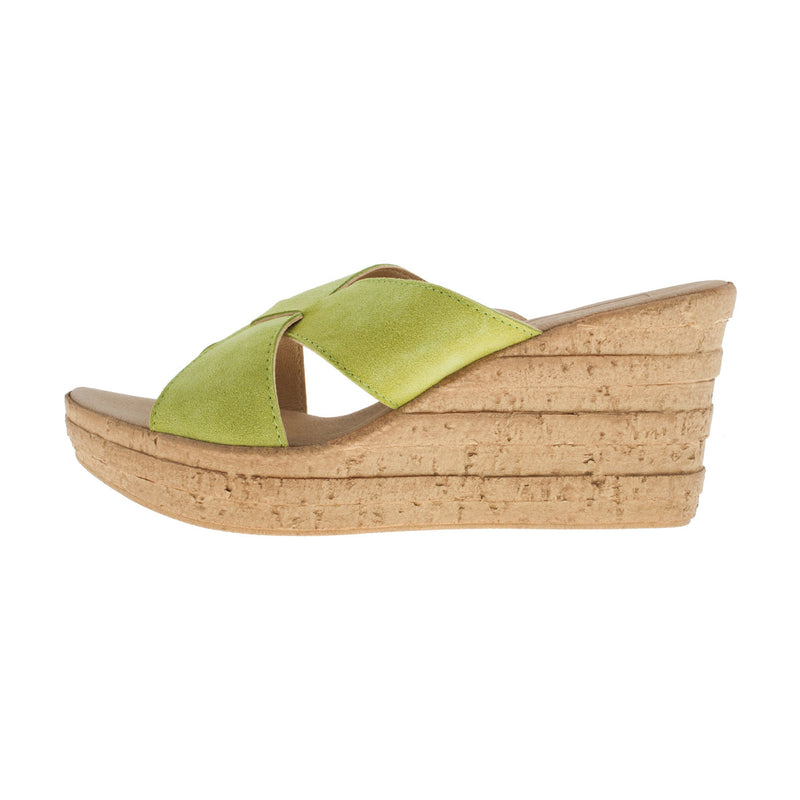 Women's 29289 Leather Mule Sandal