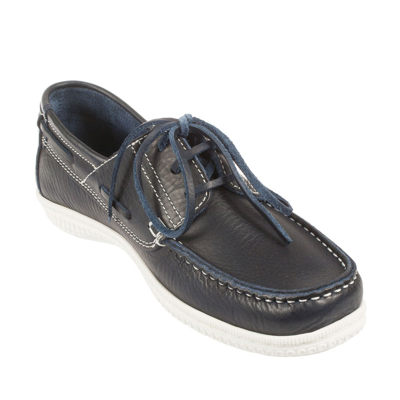TBS Men's Yolles Leather Lace Up Boat Shoe (B8032)
