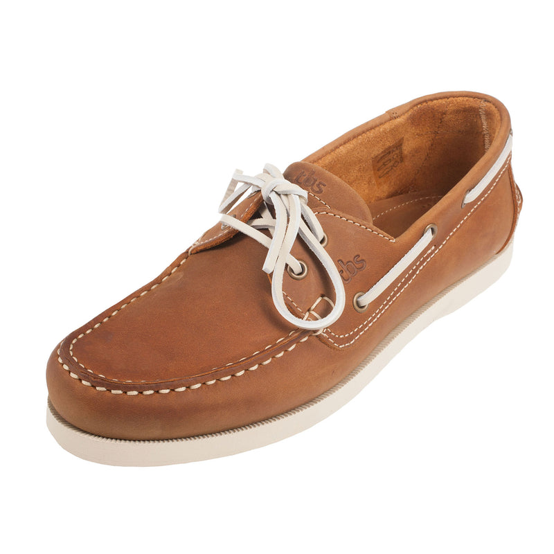 TBS Men's Phenis Leather Boat Shoe (E8F65)